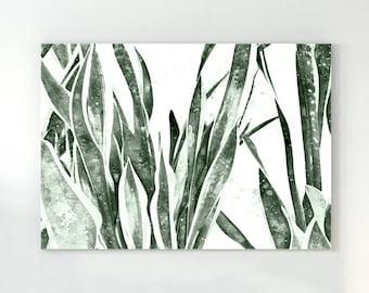 Succulent print, cactus print, cactus wall art, botanical print, agave, succulent photo, succulent wall art, bohemian wall, green print