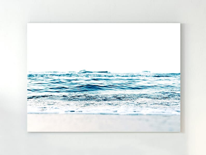 SEASIDE WATER SCENIC GLOSSY WALL ART POSTER PRINT A1 - A5 SIZES AVAILABLE