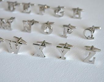 Letters Cufflinks/ Letter Cufflinks/ Initials Cufflinks/ Personalised Cufflinks/ Mens cufflinks/ Monogram Cufflinks/ Cufflinks for men