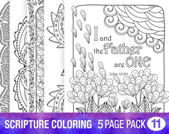 5 bible verse coloring pages inspiration quotes diy adult colouring instant download printable 8x10 christian scripture coloring