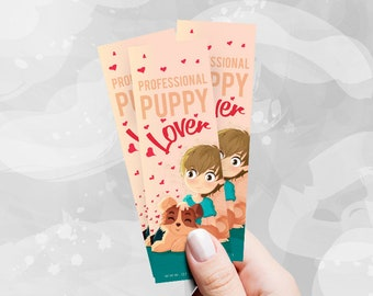 Professional Puppy Lover - BookMarks -