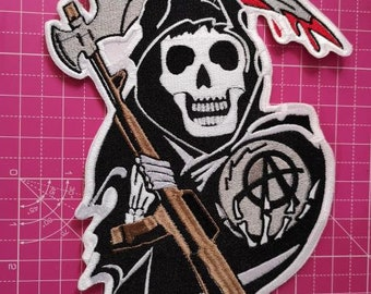 Sons Of Anarchy Pin Etsy
