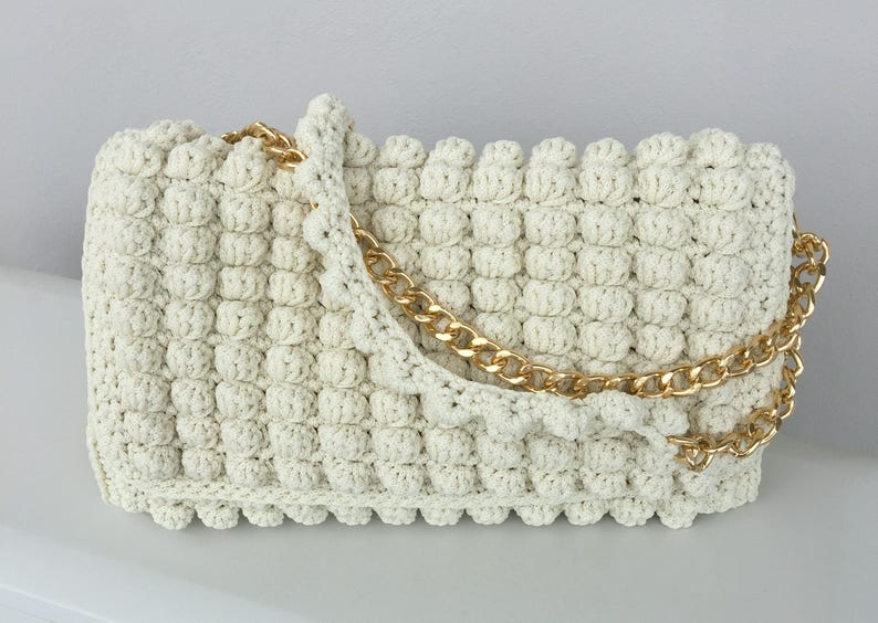 de72ada0e427 Crochet bag Bags Luxury bug Crochet handbags Handmade