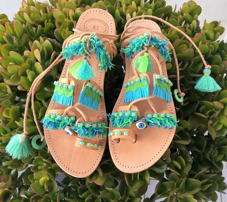 e8da85a84dd6a Greek sandals Leather craft Handmade Egst Ancient greek