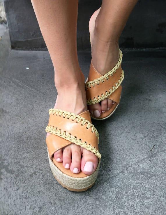 fffb5d99cb95c Greek sandals, Leather Sandals, Leather Platforms, Crochet Sandals,  Handmade, Barefoot Sandals, Egst, Criss cross sandals, Made in Greece