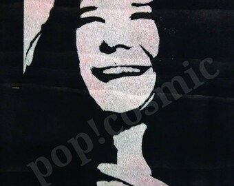 Janis Joplin Inspired Wall Art