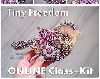 Tiny Freedom - online class + products KIT