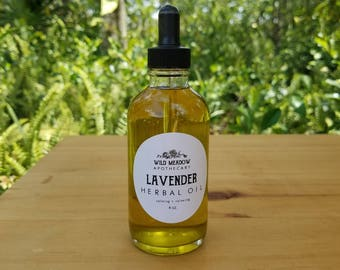 Lavender Herbal Oil | calming + relaxing