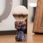 Shaving Brush - Black Anvil - Moralltach. Walstromite