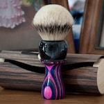 Shaving Brush - Black Anvil - Moralltach.