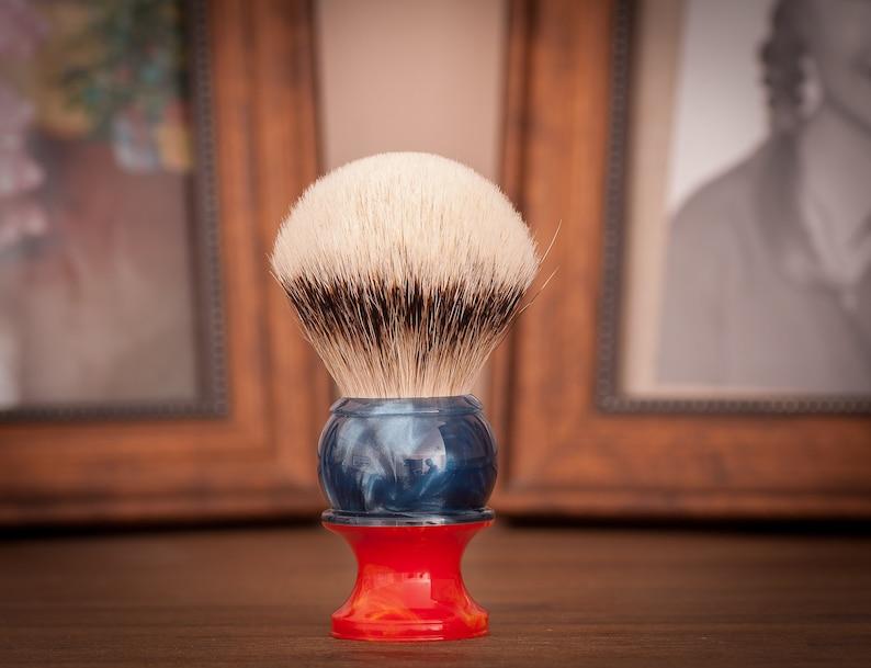 Shaving Brush  Black Anvil  Old English. Super Hero image 0
