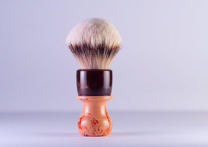 Shaving Brush  Black Anvil Freagarach. . 26mm HD Silvertip image 0