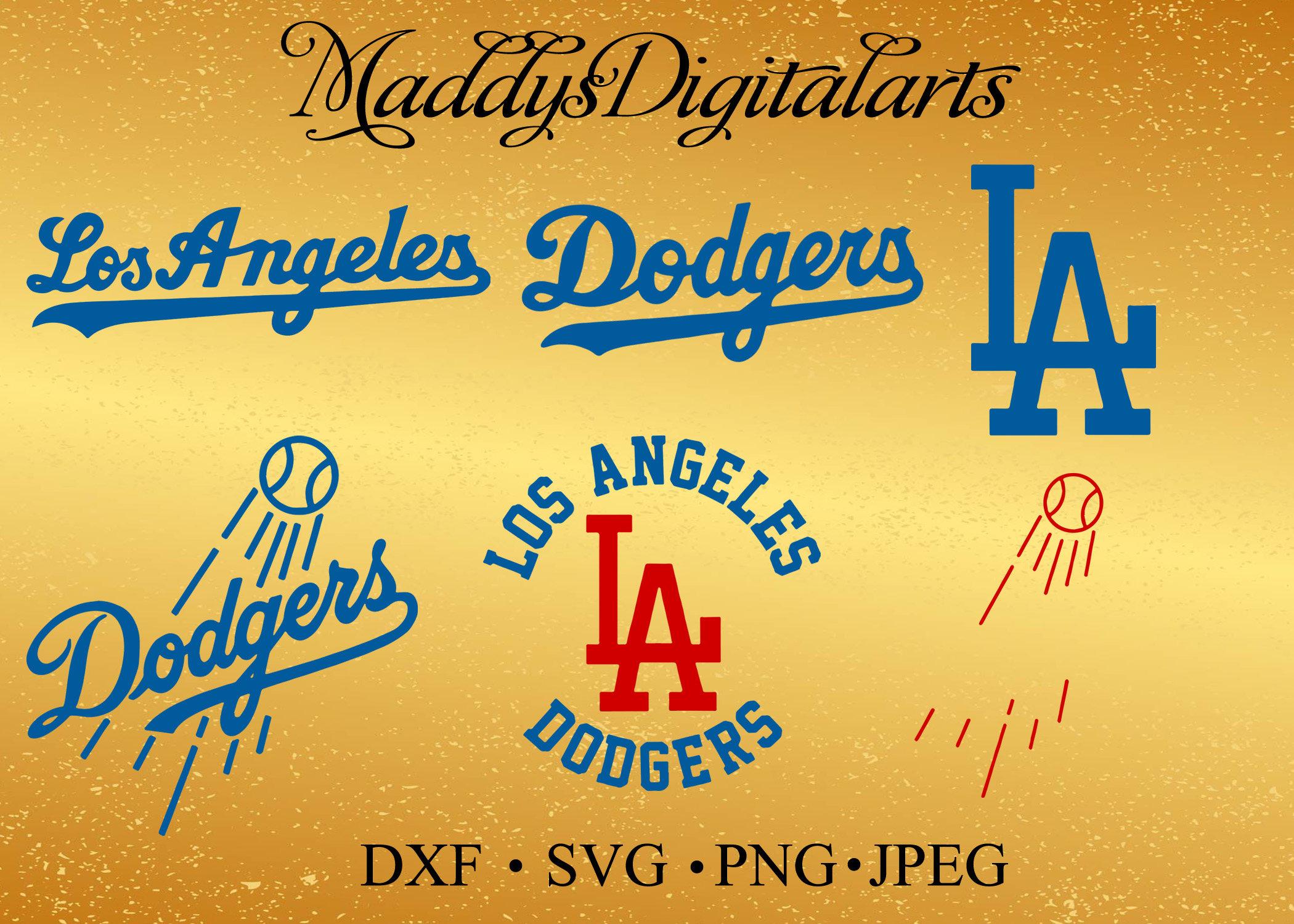 Los Angeles Dodgers Baseball SVG Los Angeles Dodgers Dodgers | Etsy