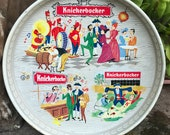 Knickerbocker Beer Tin Bar Serving Tray Advertisement