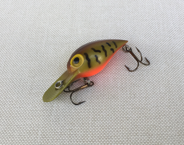 Storm Wiggle Wart Green Crawdad V38 Crankbait 3 Fishing Etsy
