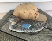 Duck Decoy Blue Wing Teal Drake Made In Italy Sport Plast Small 11