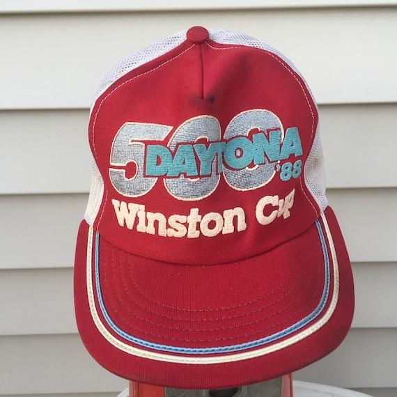 3eedf205726 Daytona 500 Winston Cup 1988 Retro Truckers Baseball Cap hat