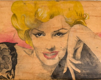 Marilyn - Carmen Navarro Illustration Collection