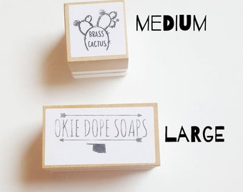 Custom Logo Stamp - 2 sizes available