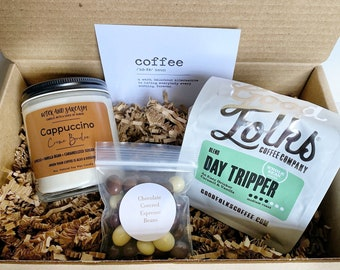 Coffee And Candle Gift Box