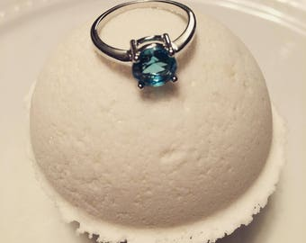 Ring Surprise Bath Bomb- baby shower favour, handmade, jewelry bath fizzy, Engagement Gift, gift for bestie, bridesmaid proposal, mother's