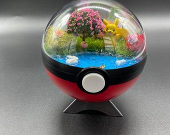 Pokemon  Terrarium ( Pikachu )