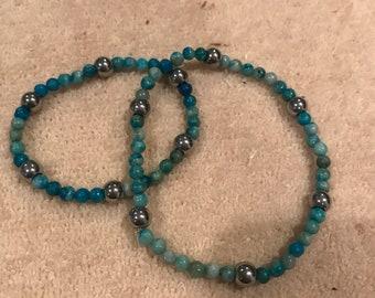 Bracelet and Anklet Set