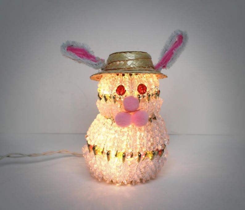 Beaded Bunny Rabbit Light