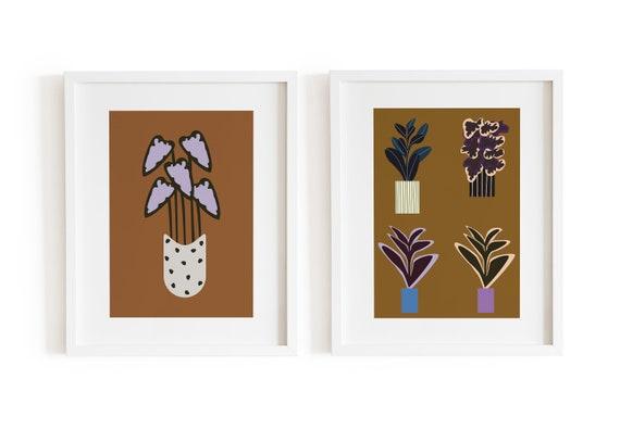 70's Flora Plant Set