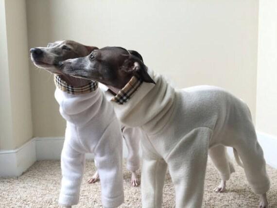 Tartan Fleece Dog Pajamas (All Breeds)