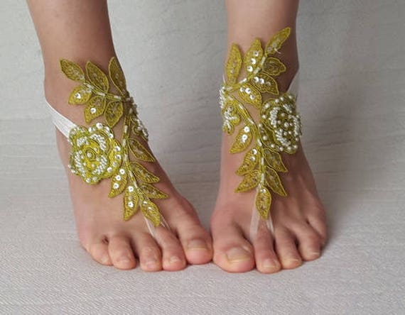 sandals free costume shoes bridal wedding shoes beads shoes wedding beach accessories lace green bridesmaids shipping shoes summer 6H4qO4