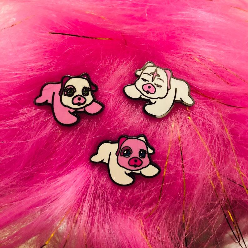 Puppy Surprise Puppies Hard Enamel Pin image 0