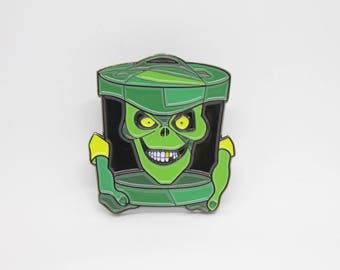 Haunted Mansion Hatbox Ghost Enamel Pin