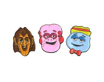 3 Pack of Monsters - Frankenberry Booberry Count Chocula