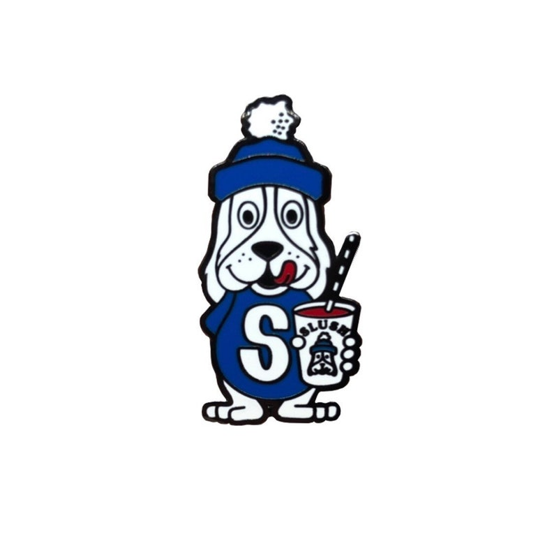 Vintage Slush Puppy Hard Enamel Pin image 0