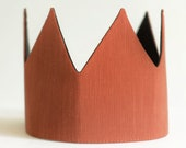 Pretend play dress up fabric crown