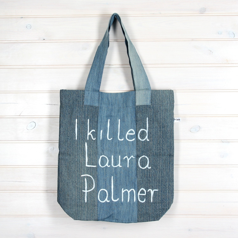 Strampelsack Taschen Laura Palmer Twin Peaks Jeans | Etsy