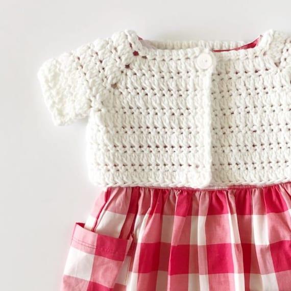 Crochet Baby Sweater Shrug Pattern Etsy