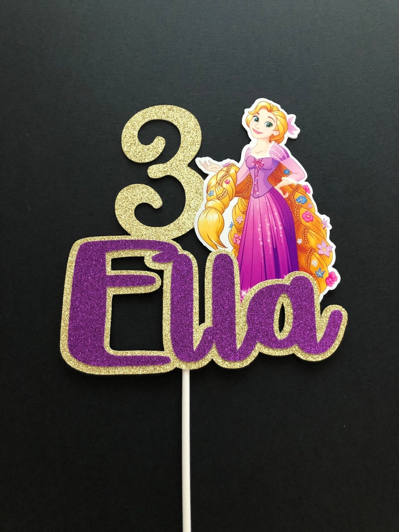 Rapunzel Disney Priness Disney Tangled Cake topper