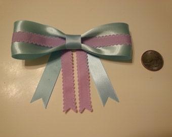Lavender Blue Bow