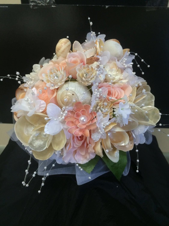 Seashell Bridal Bouquet Etsy