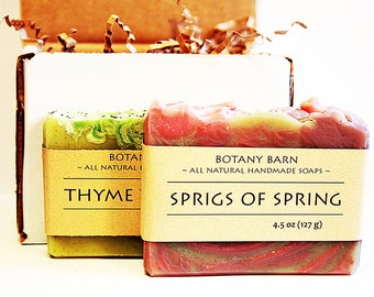 Soap of the Month, Organic Soap, Soap Subscription Box, Soap Gift Box, Artisan Soap, Homemade Soap, Handmade Soap, Cold Process Soap