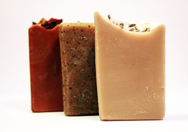 Organic Soaps Guest Soap Mini Soaps Handmade Soap Cold image 0
