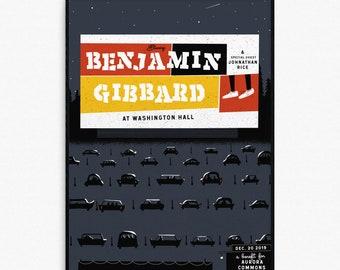 Ben Gibbard In Seattle Print
