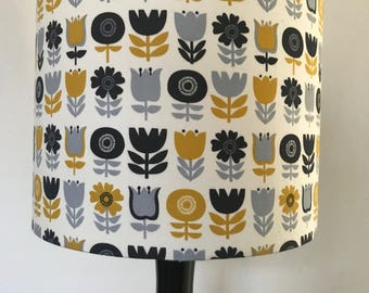 Scandinavian Style Flower Lampshade