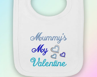 Handpicked for Earth Nanny Embroidered Baby Pull-Over Bib Gift Heaven Nan Nanna