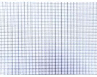 "Gridded Plastic Template Sheet 12"" x 18"""