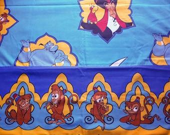Vintage Disney Aladdin - Twin flat sheet