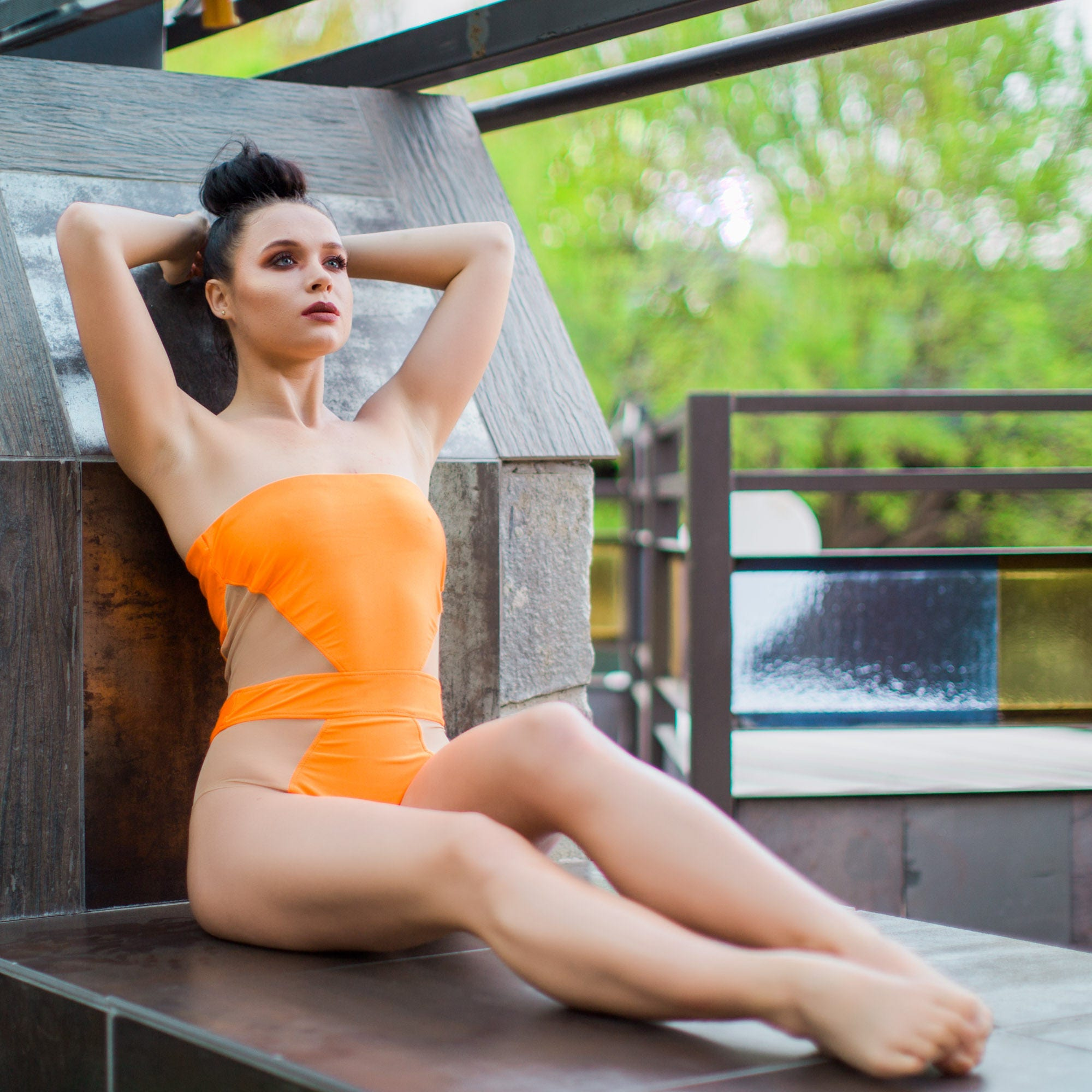 e4789644b8 Diamond Swimsuit Mesh SwimsuitMesh BodysuitBodysuitOne | Etsy
