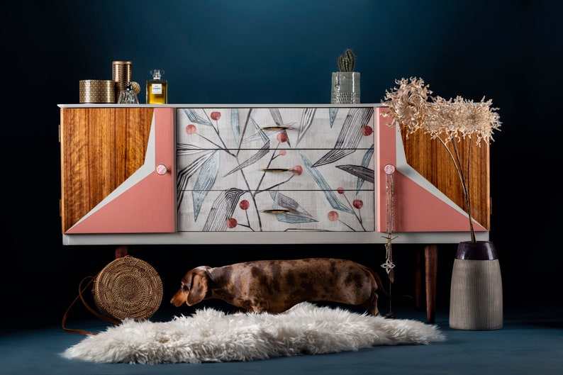 RESERVED for Etsy Design Awards Mid Century Sideboard image 0
